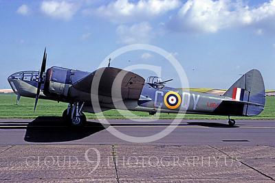 WB - Bristol Blenheim 00001 Bristol Blenheim British RAF warbird by MarinusTabak