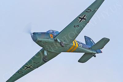 WB - Bucker Bu-181 B-1 Bestmann 00004 by Tony Fairey