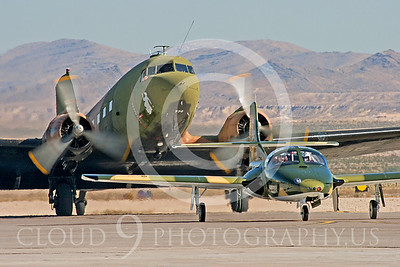 WB-A-37 00006 OA-37 Dragonfly and AC-47 Skytrain by Peter J Mancus