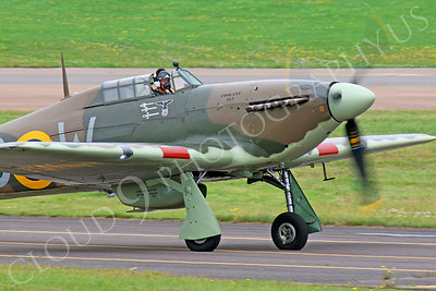 CUNWB 00014 Hawker Hurricane by Peter J Mancus