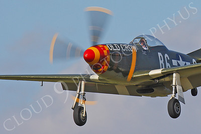 CUNWB 00016 North American P-51D Mustang Old Crow by Peter J Mancus