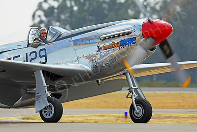 CUNWB 00013 North American P-51D Mustang Merlin's Magic by Peter J Mancus