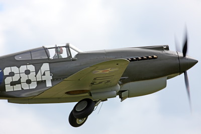 CUNWB 00018 Curtiss P-40B Warhawk by Peter J Mancus