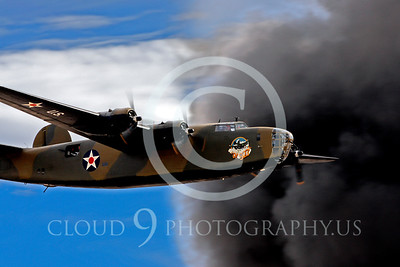WB-B-24 00002 Consolidated B-24 Liberator by Peter J Mancus