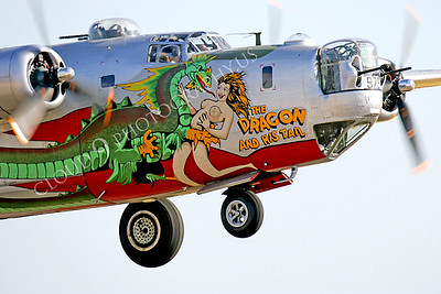NA 00030 Dragon on Consolidated B-24 Liberator by Peter J Mancus