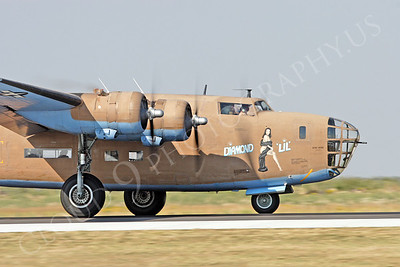 CUNWB 00017 Consolidated B-24 Liberator Diamond Lil by Peter J Mancus