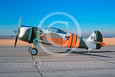 WB - Curtiss P-36 Hawk 00001 Curtiss P-36 Hawk US World War II fighter warbird by David W Menard
