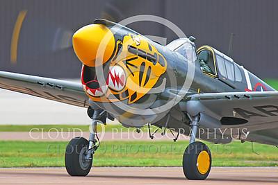 CUNWB 00058 Curtiss P-40 Warhawk by Peter J Mancus