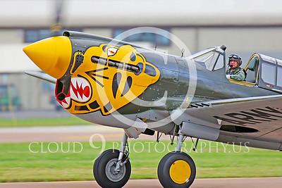 CUNWB 00025 Curtiss P-40 Warhawk by Peter J Mancus