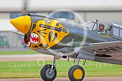 P-40 00045 Curtiss P-40 Warhawk by Peter J Mancus