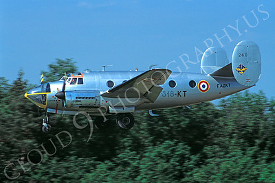 WB - 00002 Dassault MD311 Flamant French Air Force by Stephen W D Wolf