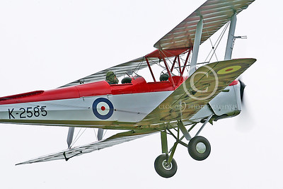 WB - de Havilland DH 82 Tiger Moth 00014 by Tony Fairey