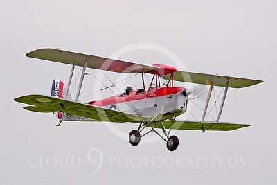 WB-de Havilland DH 82 Tiger Moth 00002 British Royal Air Force by Tony Fairey