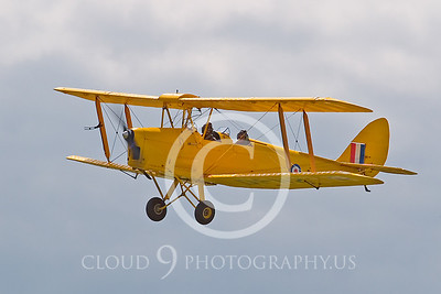 WB-de Havilland DH 82 Tiger Mouth 00006 British Royal Air Force by Tony Fairey