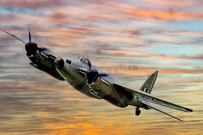 WB - de Havilland Mosquito 017 A riveting, dynamic, colorful picture of a flying de Havilland Mosquito warbird in British RAF markings, 7-1976, by Stephen W  D  Wolf   CCC_4204   Dt