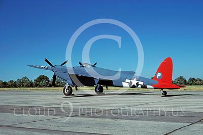 WB - de Havilland Mosquito 00001 de Havilland Mosquito US Army Air Corps F-8 warbird by David W Menard