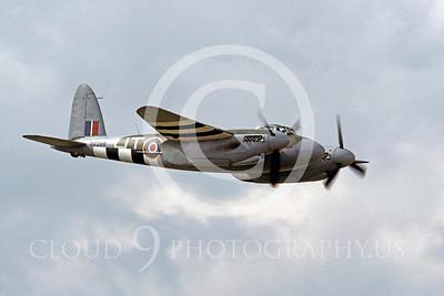 WB - de Havilland Mosquito 00002 de Havilland Mosquito British RAF warbird by Peter J Mancus