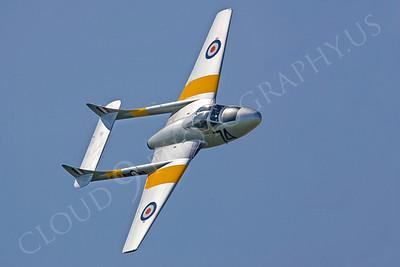WB - de Havilland Vampire 00010 by Tony Fairey
