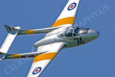 CUNWB 00038 de Havilland Vampire by Tony Fairey