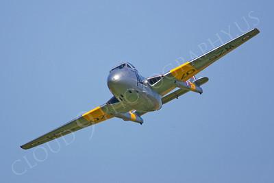 WB - de Havilland Vampire 00004 by Tony Fairey