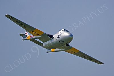 WB - de Havilland Vampire 00008 by Tony Fairey