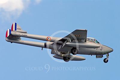 WB - de Havilland Vampire 00020 de Havilland Vampire French Air Force warbird aircraft photo by Stephen W D Wolf