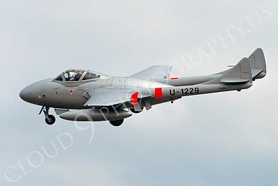 WB - 00012 de Havilland Vampire by Stephen W D Wolf