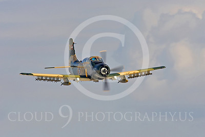 WB-A-1 00020 Douglas A-1 Skyraider by Peter J Mancus