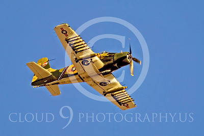 WB-A-1 00004 Douglas A-1 Skyraider by Peter J Mancus