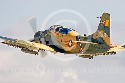 WB-A-1 00014 Douglas A-1 Skyraider by Peter J Mancus