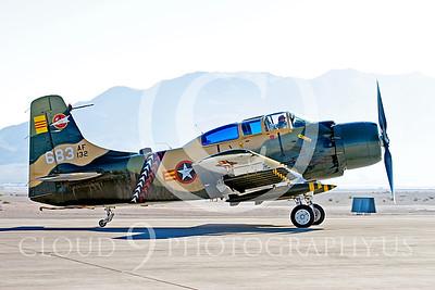 WB-A-1 00017 Douglas A-1 Skyraider by Peter J Mancus