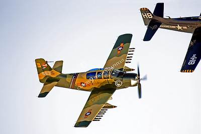 WB-A-1 00028 Douglas A-1 Skyraider by Peter J Mancus