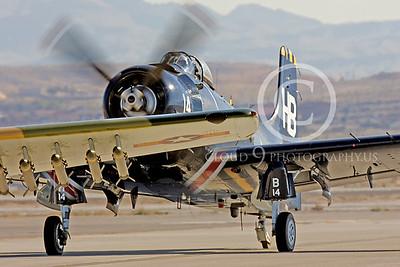 WB-A-1 00005 Douglas A-1 Skyraider by Peter J Mancus