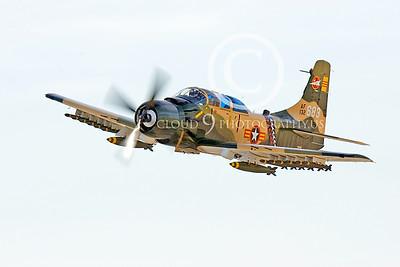 WB-A-1  00002 Douglas A-1Skyraider by Peter J Mancus