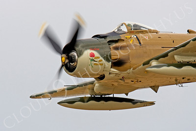 CUNWB 00018 Douglas A-1 Skyraider by Peter J Mancus
