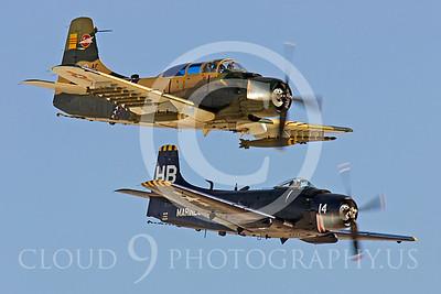 WB-A-1 00008 Douglas A-1 Skyraider by Peter J Mancus