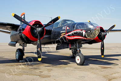 SM 00025 Douglas A-26 Invader WARBIRD by Peter J Mancus