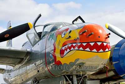 SM-A-26 004 A colorful static sharkmouth Douglas A-26 Invader warbird picture by Peter J  Mancus
