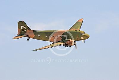 WB-C-47 00026 Douglas AC-47 Skytrain by Peter J Mancus