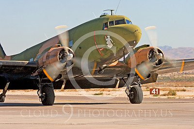 WB-C-47 00047 Douglas AC-47 Skytrain by Peter J Mancus