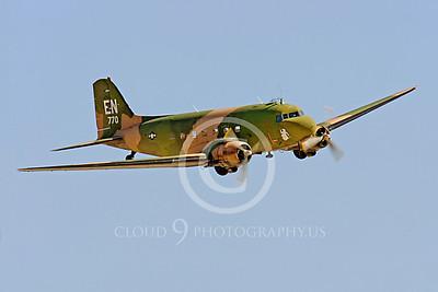 WB-C-47 00010 Douglas AC-47 Skytrain by Peter J Mancus