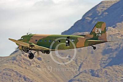 WB-C-47 00012 Douglas AC-47 Skytrain by Peter J Mancus