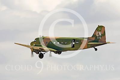 WB-C-47 00006 Douglas AC-47 Skytrain by Peter J Mancus