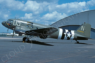 WB - 00007 Douglas C-47 Sky Train US Army Air Force by Stephen W D Wolf