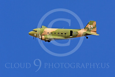 WB-C-47 00004 Douglas AC-47 Skytrain by Peter J Mancus