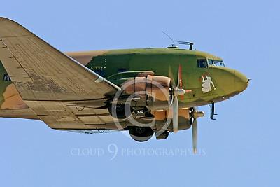 WB-C-47 00018 Douglas AC-47 Skytrain by Peter J Mancus