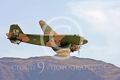 WB-C-47 00028 Douglas AC-47 Skytrain by Peter J Mancus