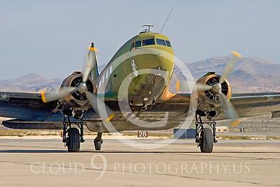 WB-C-47 00001 Douglas AC-47 Skytrain by Peter J Mancus