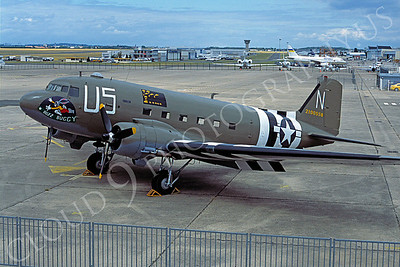 WB - 00013 Douglas C-47 Sky Train US Army Air Force by Stephen W D Wolf