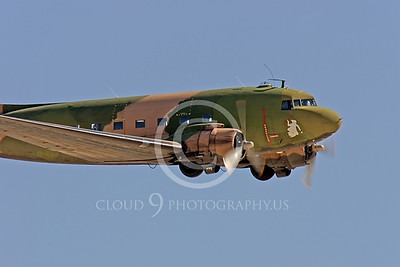 WB-C-47 00016 Douglas AC-47 Skytrain by Peter J Mancus